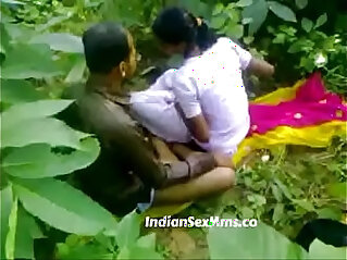 7:37 - Young couple fucking whore in India forest new -