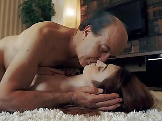 6:11 - Innocent Teen Swallows and Spits cum after Romantic Sex with Grandpa -