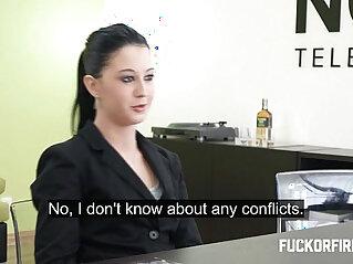 17:16 - Teeny brunette sucks and fucks sucks her boss -