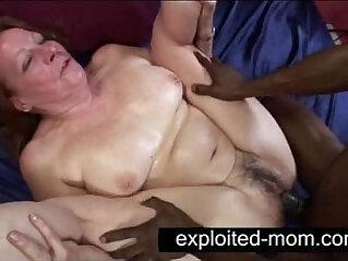 3:04 - Old whore taking black cock in Granny Sex Video -