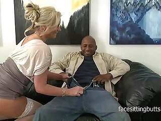 35:55 - Horny cougar has a thing for huge black monster cocks -