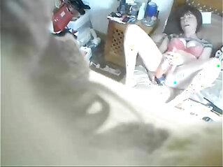 3:46 - My mum masturbating on bed caught by hidden cam -