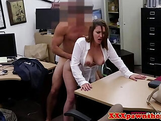 7:50 - Reality cash fuck session with a busty desperate babe -