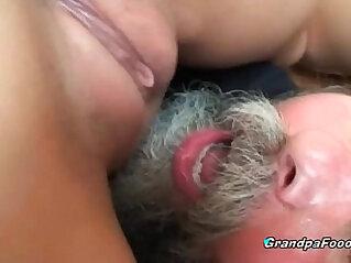 8:29 - Teen gets anal banged by grandpa -