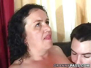 8:56 - Granny Receives Anal -