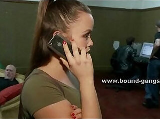 4:10 - Chubby assistant taken by force -