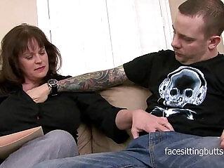 11:12 - The heavily tattooed stud fucks his mature private tutor -