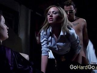 36:27 - Hillary Scott Hardcore punishment by a hardcore slut porn -