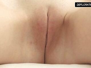 7:31 - Dunja Kazimkina masturbating and showing pussy -