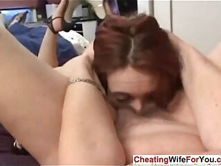 7:50 - Blonde MILF Learns Anal Sex -
