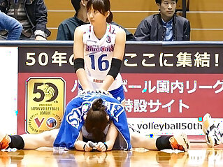 4:37 - Volleyball player sexy ass Voyeur Cameltoe Asian -