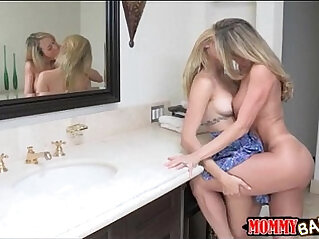 5:35 - Teen beauty Lia Lor sharing cock with her stepmom Brandi Love -