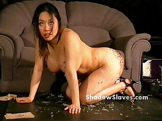 10:25 - Bdsm reality show of asian slave Tigerr Benson drawing punishments and hot waxin -