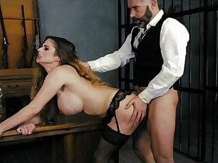 12:41 - HARMONY VISION Sheriff Anal banging the prisoner -