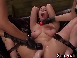 8:43 - Tied les slave whipped -