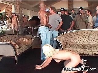 41:48 - Gorgeous busty blonde slut is rammed -