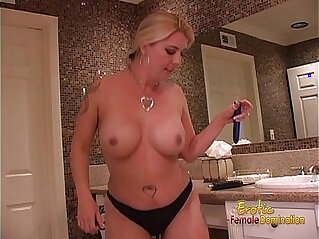 26:06 - Hot blonde wench pleasures her twat and drills her ass -