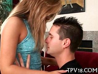 6:14 - Beautiful teenie is drilled -