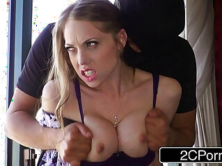 8:44 - Horny Housewife Shawna Lenee Fucked by Two Anonymous Masked Men -