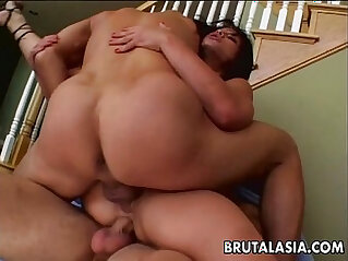 8:23 - Hot threesome for her pussy and her ass fits perfectly -