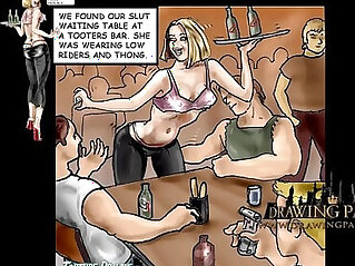 16:34 - Porn Cartoon Babes face fucked and punished in BDSM -