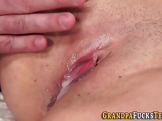 7:13 - Whore creampied by oldy -