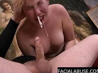 5:15 - Face fucked slut gagging sobbing -