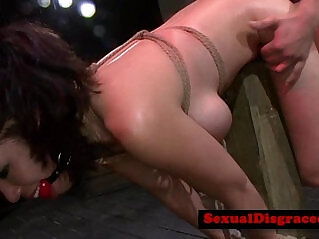 7:23 - Ball gagged bdsm sub roughly poundedreed 20 -