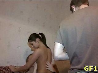 5:03 - Stranger fucks teen beauty before her boyfriend -
