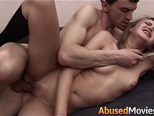 10:32 - Blonde Teen Apartment Neighbour Forced Fucked -