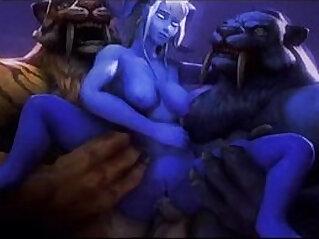 3:42 - Animated sexy facefucking deep dp rough -