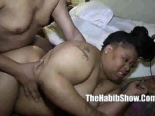 6:27 - BBW first time amatuer gangbanged by monster black dick redzilla and big papa -