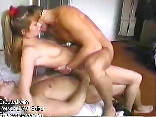 3:25 - Whore fucked by two men -
