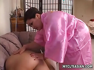 20:58 - Two sultry sluts sucking and blowing a fat dick with desire -