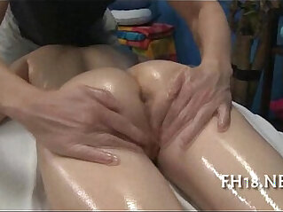 6:02 - Super Sexy 18 year old cutey with booty and gets fucked by hard -