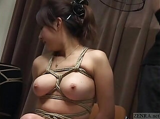 5:41 - Subtitled Japanese CMNF BDSM nose hook bird cage play -