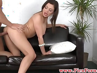 7:39 - Real chica sucks and fucks at audition -