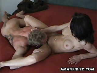 12:58 - Busty mature amateur wife homemade hardcore action -