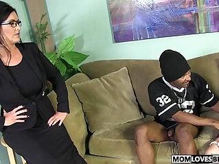8:09 - Mom Summer Rae and Sammy Brooks share a BBC -