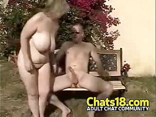 6:52 - Wifey outdoor public fucking mature woman -