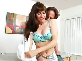 4:14 - Long haired cougar hairy pussy finger fucked hard doggystyle -