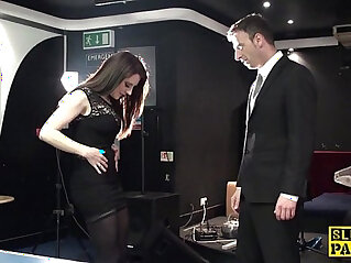 11:28 - Brit sub slut squirting after getting spanked -
